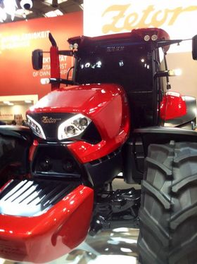 A History of Zetor Tractors - Concept tractor from Agritechnica 2015