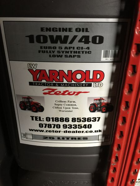 Oils + Other Fluids - LW Yarnold Ltd